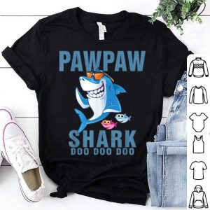 Pawpaw Shark Doo Doo Doo - Father Day shirt