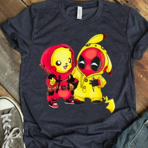 Pikapool Cute Pikachu Chibi Deadpool shirt