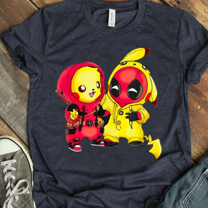 FASHION MENS Pikapool Pikachu Deadpool T-shirt GILDAN NEW ITEM