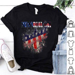 Usa Military American Flag And Eagle shirt