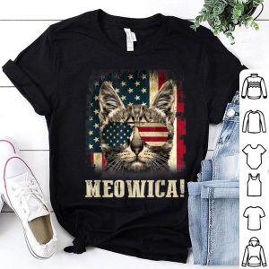 Vintage Meowica Merica 4th of July shirt