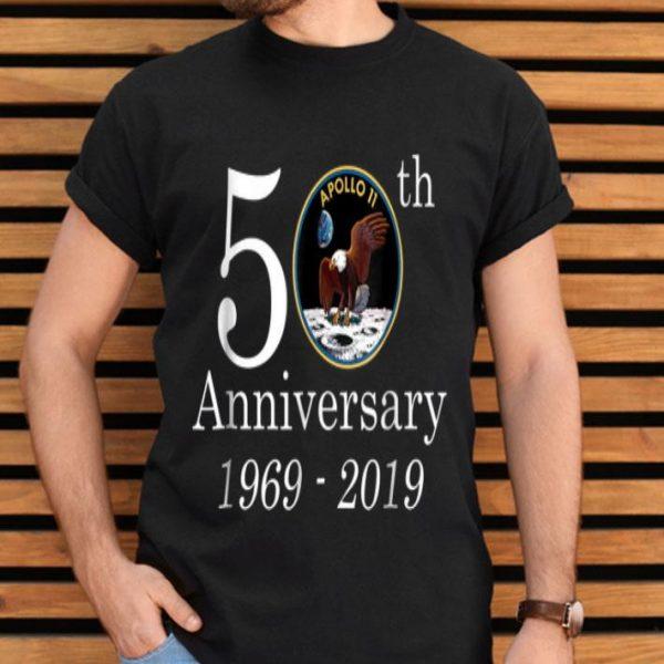 50th Anniversary 1969-2019 Apollo 11 NASA Moon Landing shirt