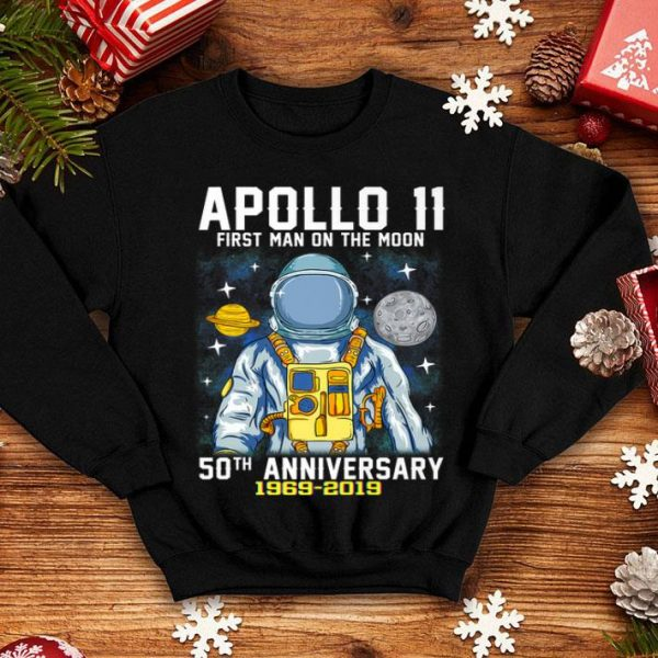 50th Anniversary Apollo 11 First Man on the Moon shirt