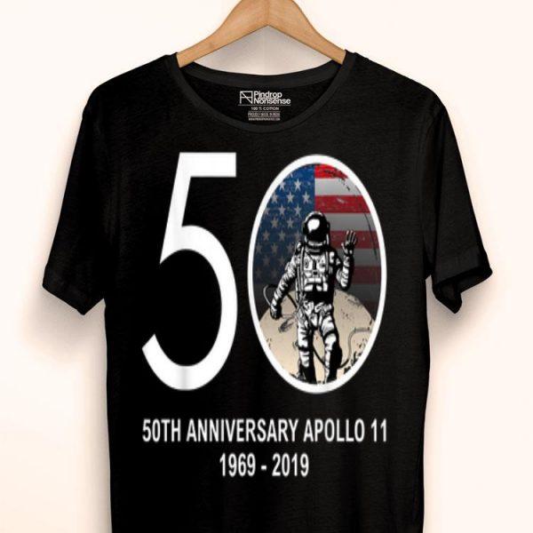 50th Anniversary Apollo 11 Moon Landing 1969 2019 shirt