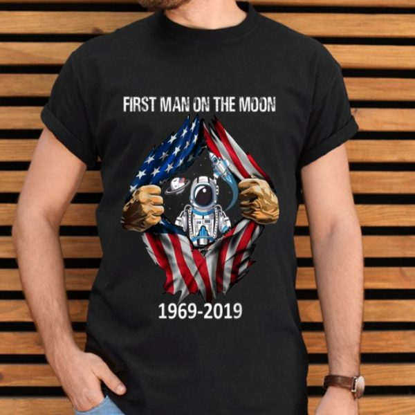 50th Anniversary Apollo 11 Moon Landing 1969-2019 shirt