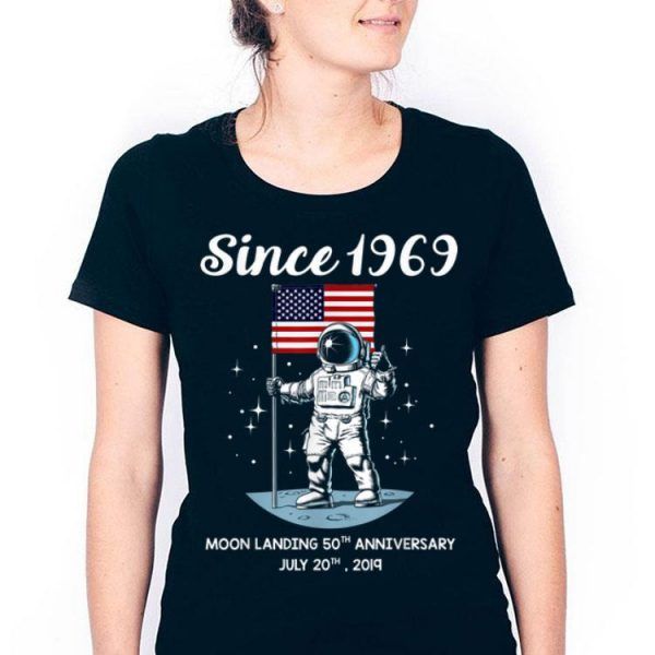 50th Anniversary Apollo 11 Moon Landings shirt
