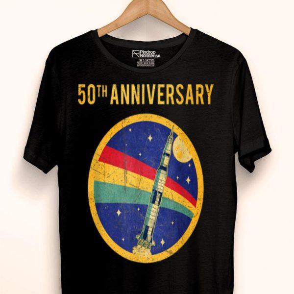 50th Anniversary Moon Landing Apollo 11 Astronaut Retro shirt