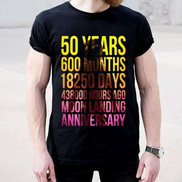 50th Anniversary Moon Landing Apollo 11 shirt