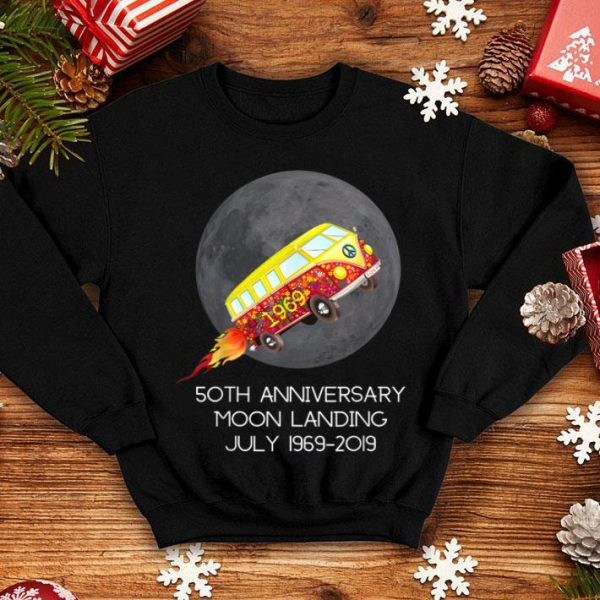 50th Anniversary Moon Landing July 1969-2019 shirt