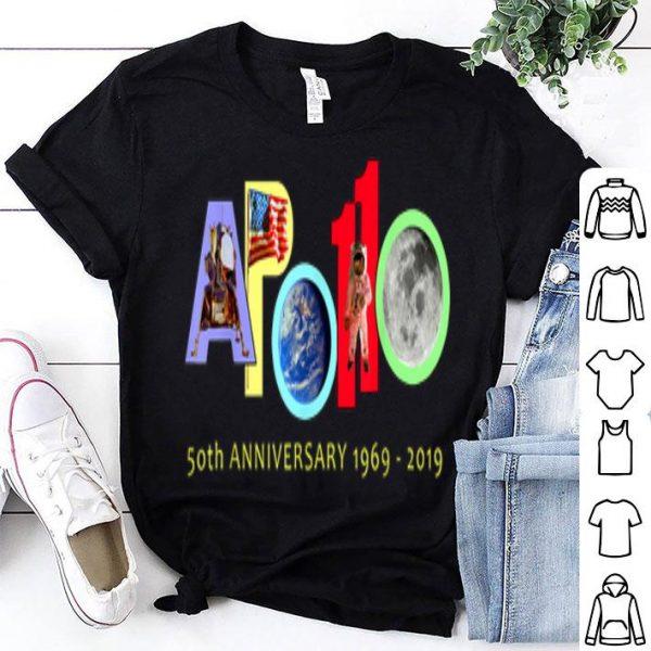 Apollo 11 50th Anniversary Colorful shirt