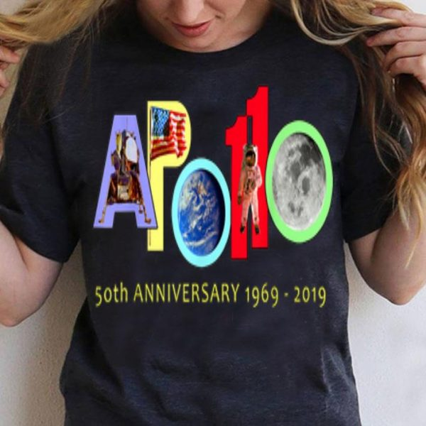 Apollo 11 50th Anniversary Colorful shirt