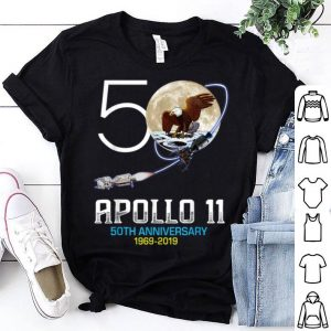 Apollo 11 50th Anniversary Moon Landing Science Lover First Step On The Moon shirt