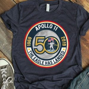 Apollo 11 50th Anniversary Moon Landing Science Lover Giant Leap shirt