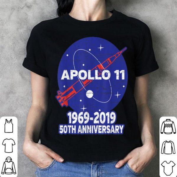 Apollo 11 50th Anniversary NASA Moon Landing Logo shirt