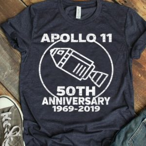 Apollo 11 50th Anniversary NASA Space Capsule shirt