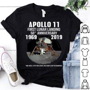 Apollo 11 Lunar Landing Moon 50th Anniversary 1969-2019 shirt