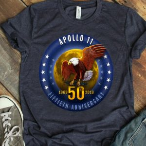 Apollo 11 Starfield 50th Anniversary Eagle Moon shirt