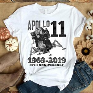 Apollo 1150th Anniversary Moon Landing First Step On The Moon White shirt