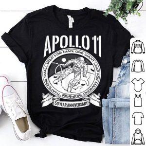 Apollo Moon Landing 50 Years Anniversary shirt