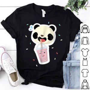 Bubble Tea Panda Boba Tea Funny Cute Animal shirt
