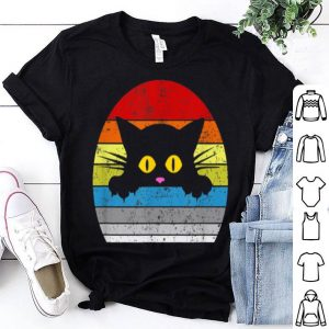 Cat Kitty Peeking Over For Cat Lovers shirt