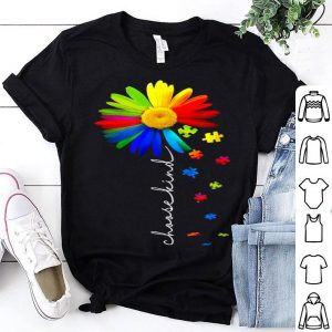 Choose Kind Autism Awareness Daisy Flower, Warrior shirt