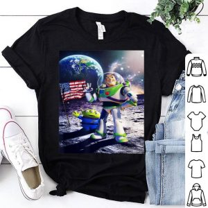 Disney Toy Story Buzz Moon Landing Graphic shirt