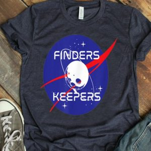 Finders Keepers Funny Moon Landing Anniversary shirt