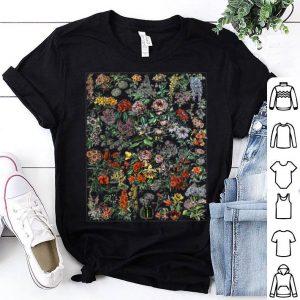 Floral Botanical Cactus Chart Flower Plant Wildflower shirt