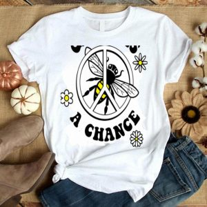 Give Bees A Chance Groovy 60s shirt