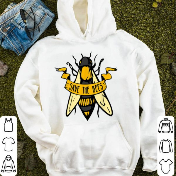 Global Warming Fight Climate Change Save The Bees shirt