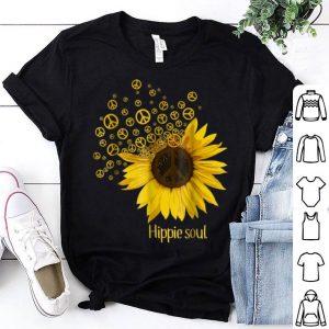 Hippie Gypsy Soul Sunflower Flower Girl Piece Lover shirt