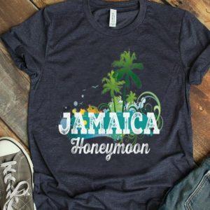 Jamaica Honeymoon Newlywed For Couples shirt