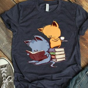 Kittens, Cats, Tea And Books shirt