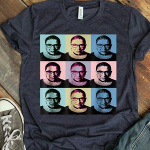 Notorious RBG - Ruth Bader Ginsburg - Pink Wave shirt