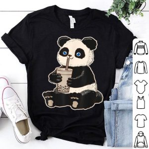 Panda Bear Bubble Tea Boba Animal Drink Giant shirt