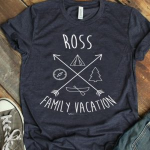 Ross Family Vacation Group shirt