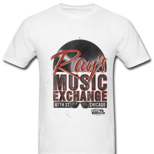 The Blues Brothers Ray's Music Lover Exchange Graphic shirt