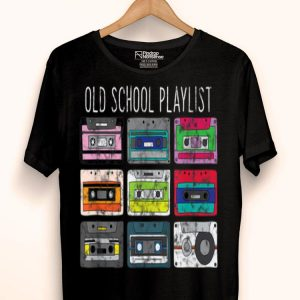 Vintage Retro Music Lover Cassette Tapes Mixtape shirt