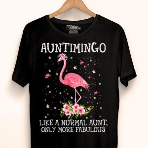 Auntimingo Like A Normal Aunt Only More Fabulous Premium shirt