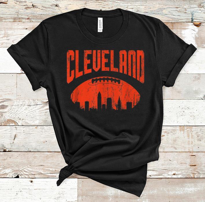 Awesome Cleveland Skyline Ohio Vintage shirt 1 - Awesome Cleveland Skyline Ohio Vintage shirt