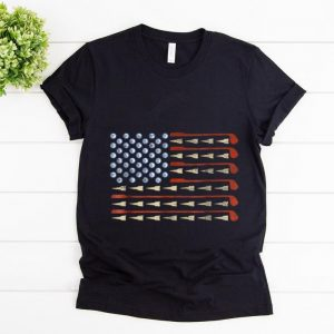 Awesome Golf American Flag shirt