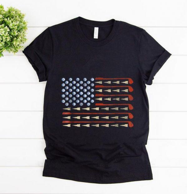 Awesome Golf American Flag shirt