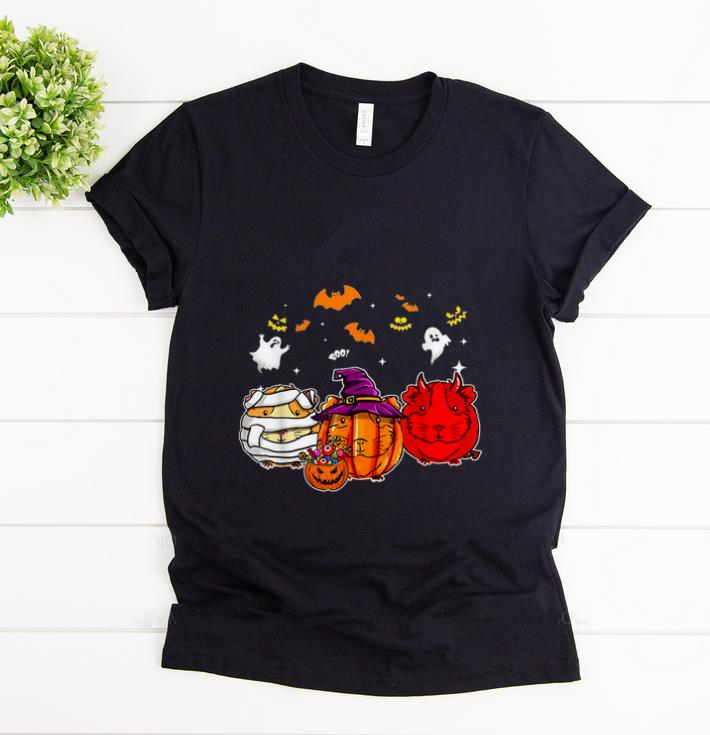 Awesome Guinea Pigs Pumpkins happy halloween shirt 1 - Awesome Guinea Pigs Pumpkins happy halloween shirt