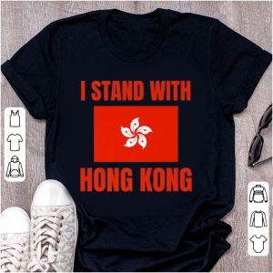 Awesome I Stand With Hong Kong shirt