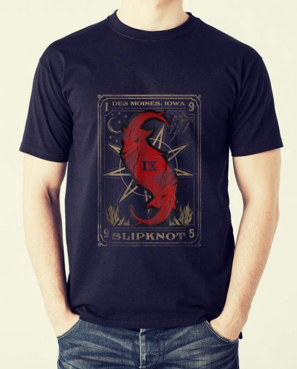 Awesome Slipknot Tarot Card Goat shirt