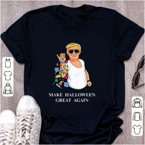 Awesome Trump Bae Make Halloween Great Again shirt