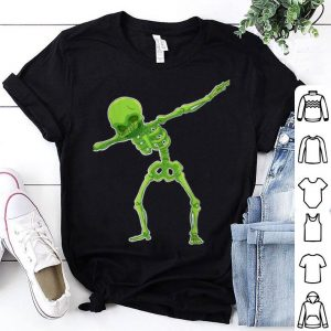 Beautiful Dabbing Skeleton Halloween Funny Gift shirt