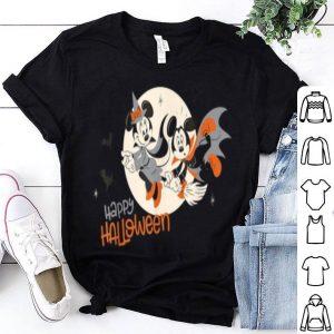 Beautiful Disney Halloween Minnie And Minnie Flying shirt
