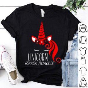 Beautiful Halloween Gift - Unicorn Horror Princess shirt